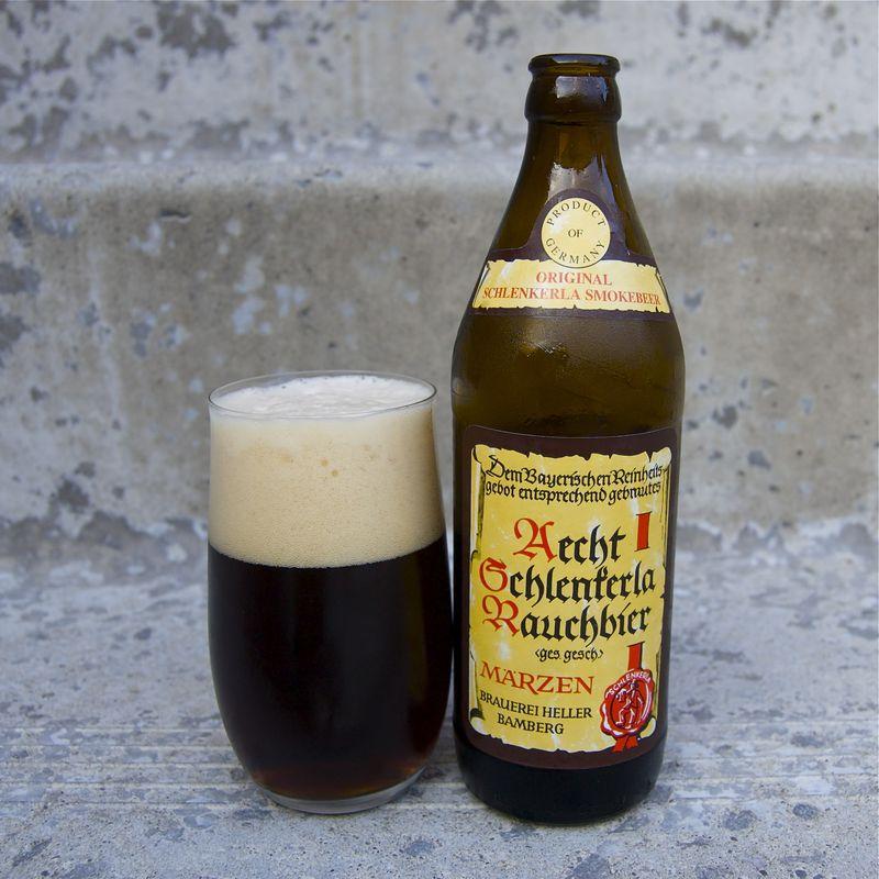 Marzen smoked beer